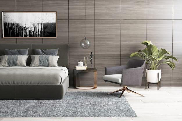 Muebles de interior sencillos y modernos.