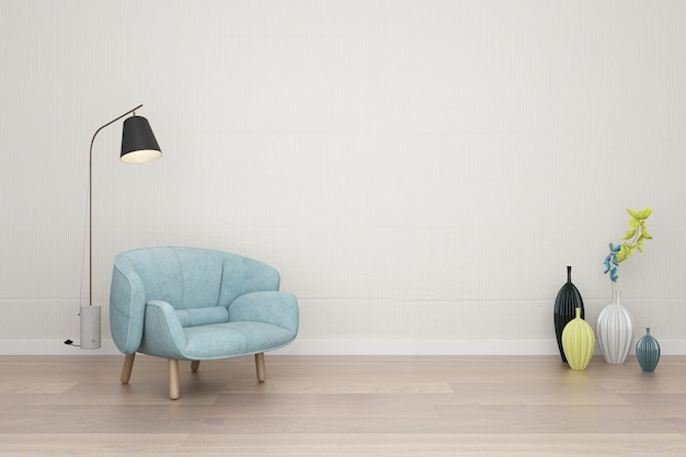 Muebles de interior sencillos