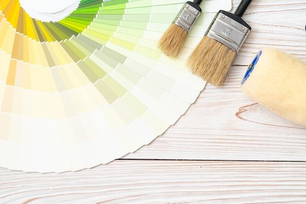 Muestra colores catálogo pantone o muestrario de colores libro