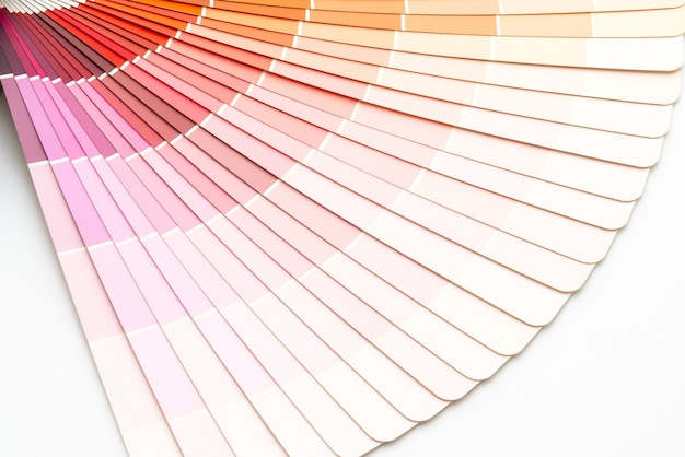 Muestra colores catálogo pantone