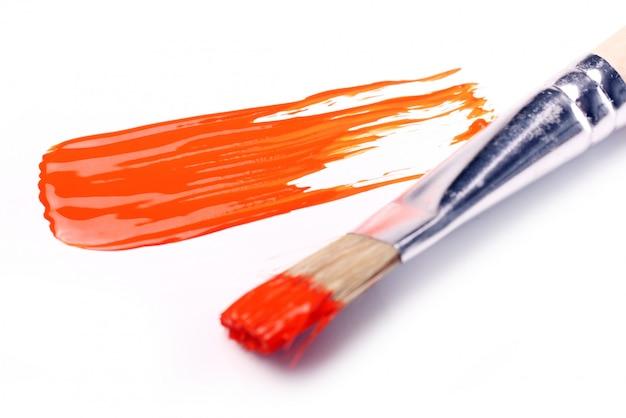 Muestras de pintura colorida.