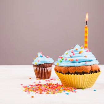 Muffin para cumpleaños
