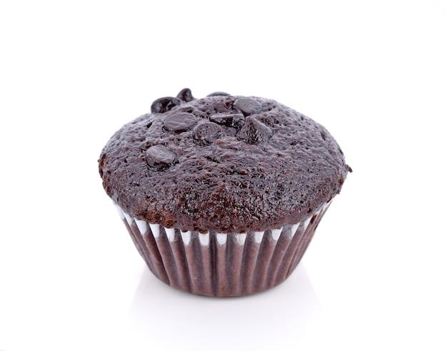 Muffin de pastel de chocolate