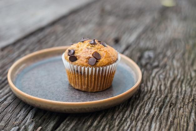 Muffins con chispas de chocolate
