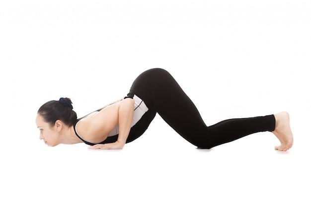 Mujer con el culo levantado