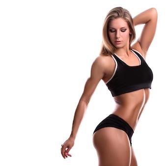 Mujer fuerte fitness