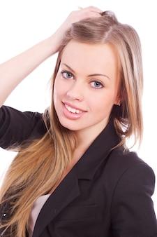Mujer joven y hermosa
