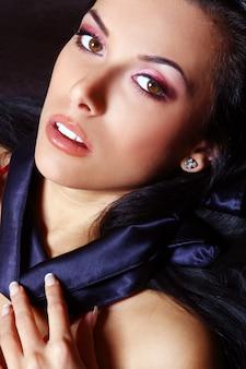 Mujer joven y sexy