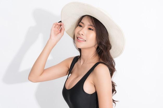 Mujer de moda de verano