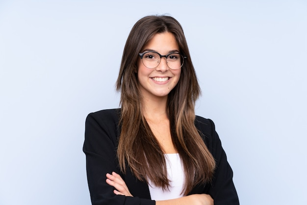 Mujer de negocios brasileña joven