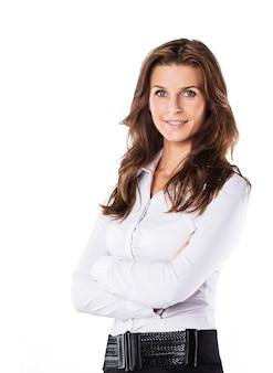Mujer de negocios exitosa