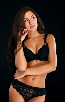 Mujer sexy en lencería