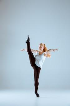 Las mujeres bailando coreografía de hip hop
