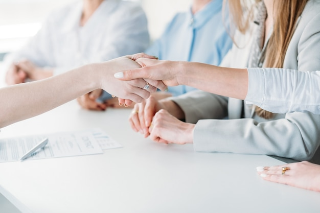 Mujeres de negocios exitosas. empresa femenina empoderada