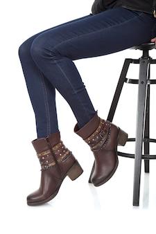 Mujeres con zapatos