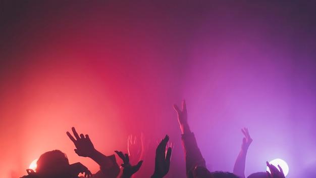 Multitud en discoteca