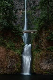 Multnomah falls en oregon