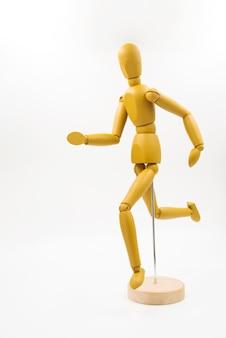 Muñeco clásico con diferentes posturas