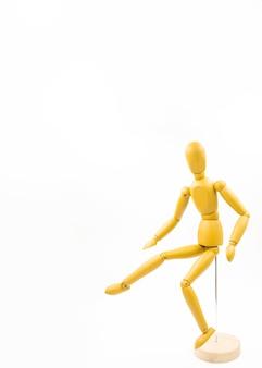 Muñeco clásico con distintas posturas