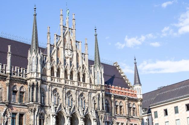 Munich, alemania - marienplatz