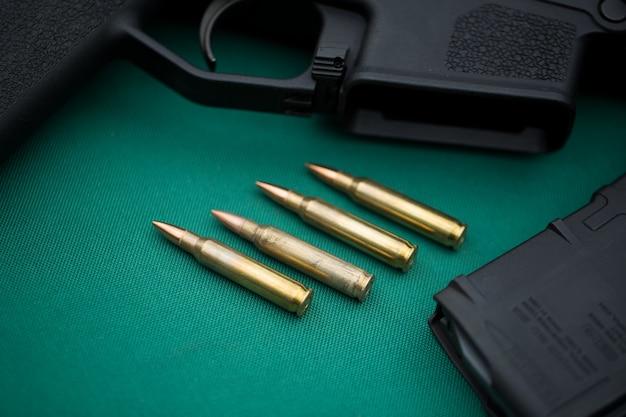 Munición para ametralladoras y municiones