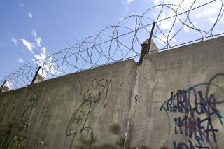 Muro de alambre de púas