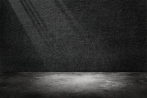Muro de cemento gris oscuro con fondo de producto de foco