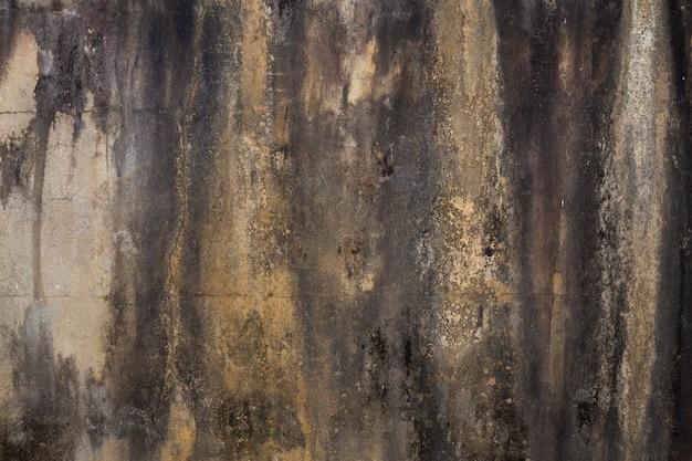 Muro de hormigón de época, antigua muralla.