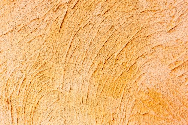Muro de hormigón naranja
