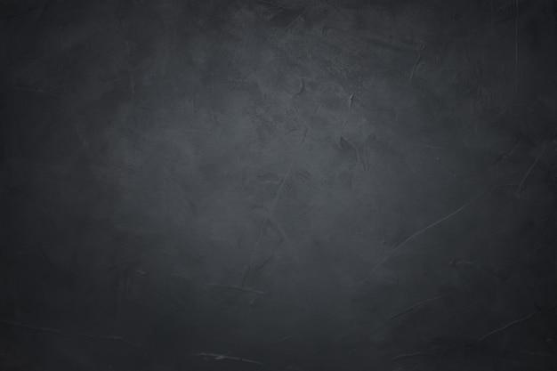 Muro de hormigón negro