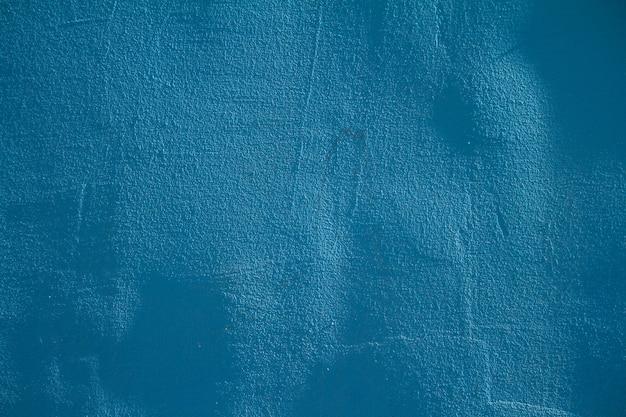 Muro de hormigón con textura azul