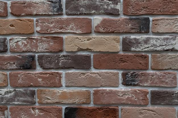 Un muro de ladrillo muy viejo