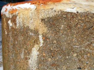 Muro de piedra, el silicio