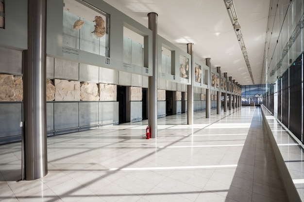 Museo de la acrópolis en atenas
