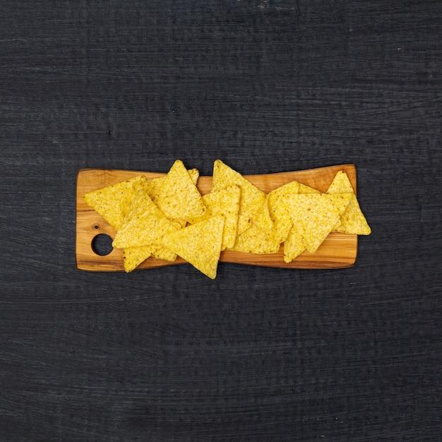 Nacho chips crujientes tradicionales