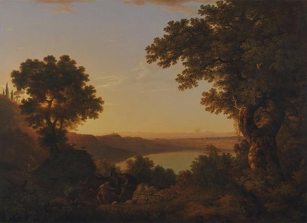 Naturaleza thomas jones lienzo de pintura al óleo artísticas