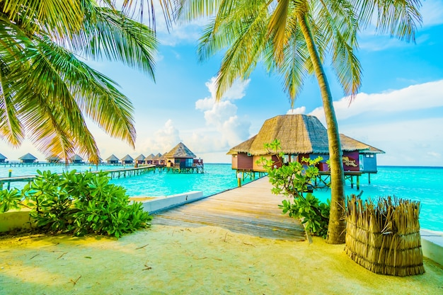 La naturaleza villa vacaciones en la playa del mar