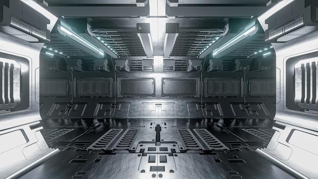 Nave espacial de ciencia ficción