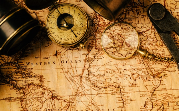 Navegación de geografía de viaje