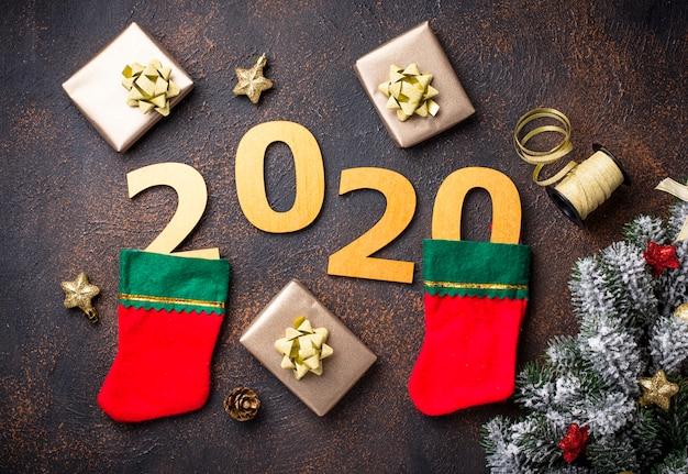 Navidad año nuevo 2020