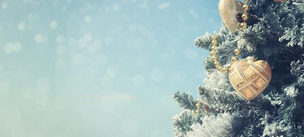 Navidad fondo borroso