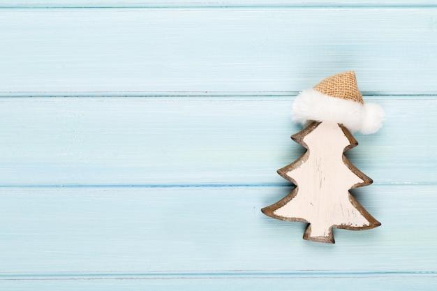 Navidad vintage con decoración navideña.
