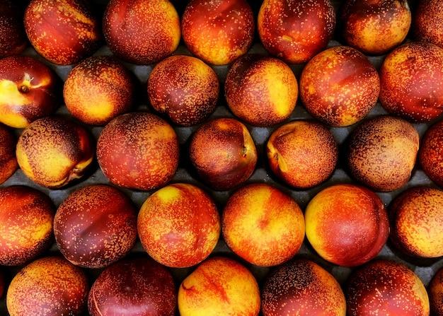 Nectarinas frescas