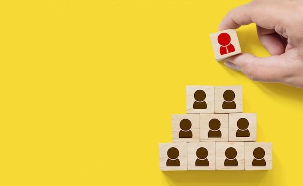 Negocio de gestión de recursos humanos y contratación