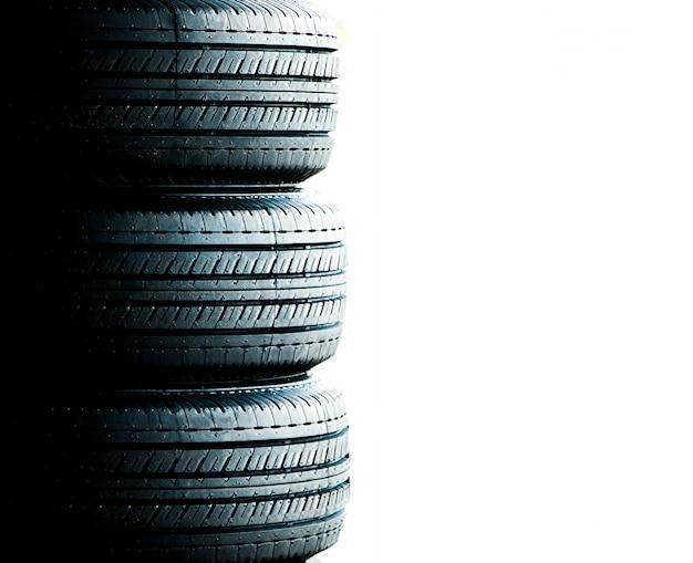 Neumático de cerca