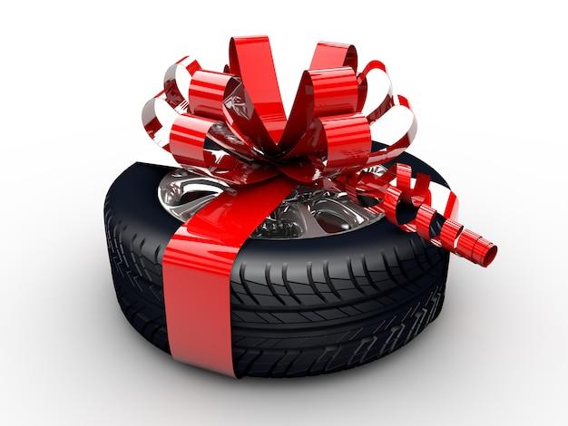 Neumático con cinta