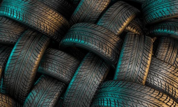 Neumático de coche nuevo