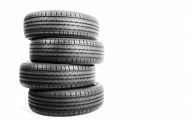 Neumático de goma de aislamiento negro