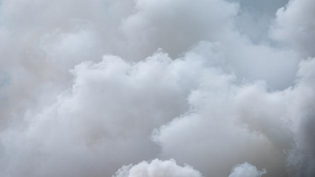 Niebla o humo de fondo. fondo abstracto de smog