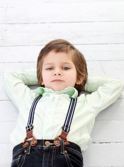 Niño adorable